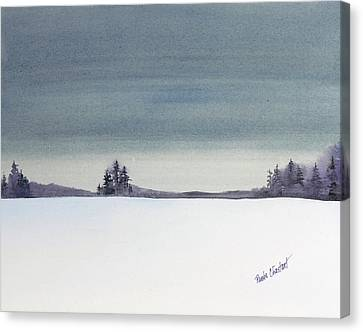 Tranquil Night Canvas Print by Renee Chastant