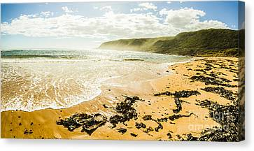 Tranquil Tasmanian Beach Paradise Canvas Print by Jorgo Photography - Wall Art Gallery