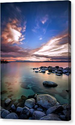 Tranquil Waters Canvas Print by Steve Baranek