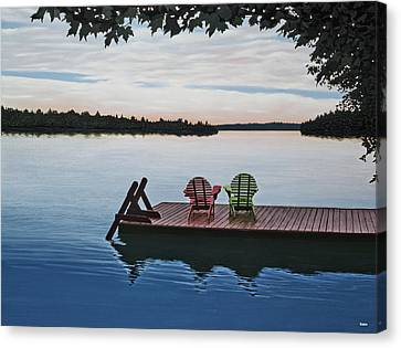Tranquility Canvas Print by Kenneth M  Kirsch