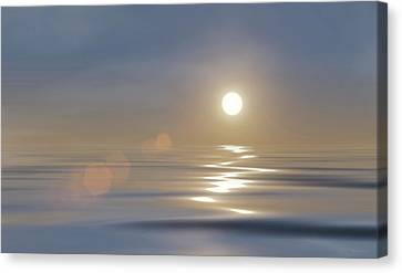 Tranquillity Canvas Print by Wim Lanclus