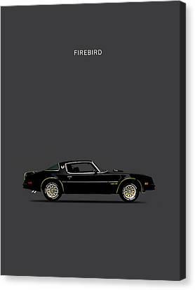 Trans Am Firebird Canvas Print by Mark Rogan