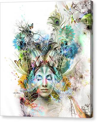 Transcendence Canvas Print by Misprint