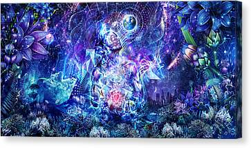 Transcension Canvas Print by Cameron Gray