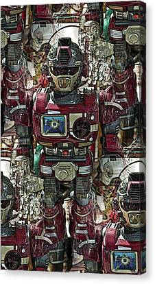Transformique For Sale Canvas Print by Gwyn Newcombe