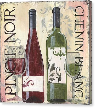 Transitional Wine 1 Canvas Print by Debbie DeWitt