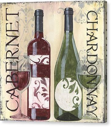 Transitional Wine 2 Canvas Print by Debbie DeWitt