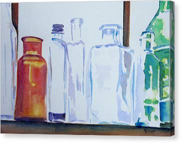 Transparencies Canvas Print by Marsha Elliott