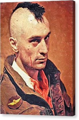 Travis Bickle Canvas Print by Taylan Soyturk