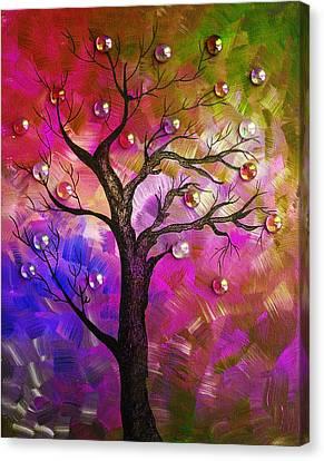 Tree Fantasy2 Canvas Print by Ramneek Narang