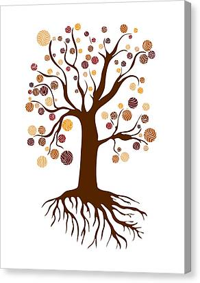 Tree Canvas Print by Frank Tschakert