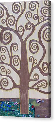 Tree Of Life Canvas Print by Angelina Vick