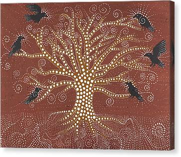 Tree Of Life Canvas Print by Sophy White