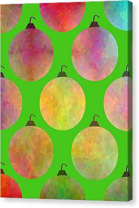 Tree Trimming Canvas Print by Kathleen Sartoris