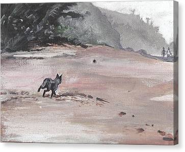 Trigger Canvas Print by Sarah Lynch
