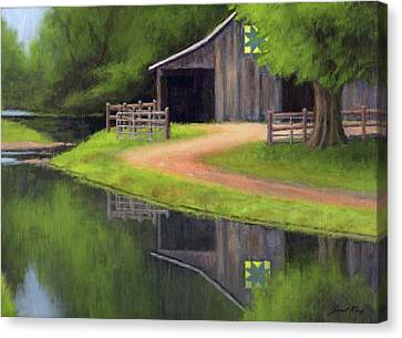 Triple L Ranch  Canvas Print by Janet King