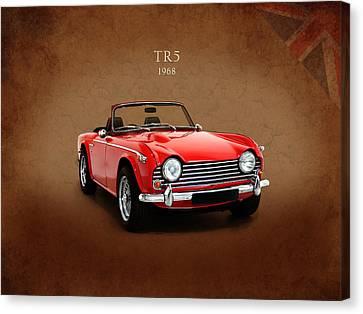 Triumph Tr5 1968 Canvas Print by Mark Rogan
