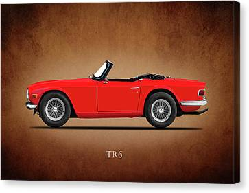 Triumph Tr6 Canvas Print by Mark Rogan
