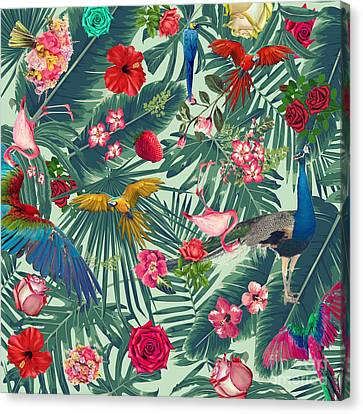 Tropical Fun Time  Canvas Print by Mark Ashkenazi