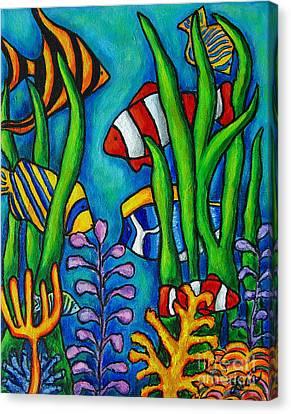 Tropical Gems Canvas Print by Lisa  Lorenz
