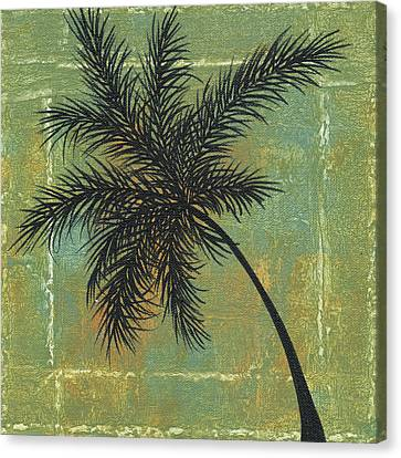 Tropical Splash 4 By Madart Canvas Print by Megan Duncanson