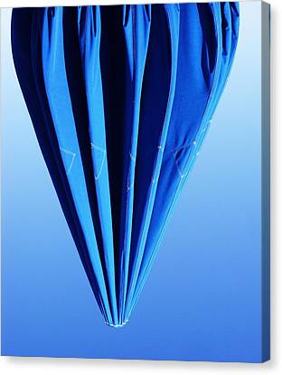 True Blue Too Canvas Print by Anna Villarreal Garbis