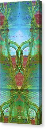 True Form Canvas Print by Gwyn Newcombe