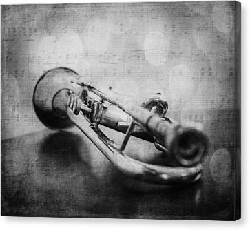 Trumpet Solo Canvas Print by Emily Kay