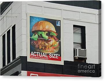 Truth In Advertising Canvas Print by Joe Jake Pratt