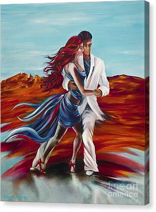 Tucson Tango Canvas Print by Summer Celeste