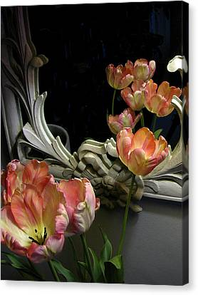 Tulips Canvas Print by Vari Buendia
