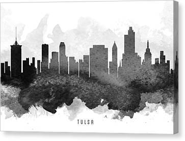 Tulsa Cityscape 11 Canvas Print by Aged Pixel