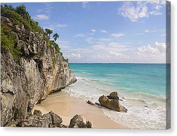 Tulum, Riviera Maya Canvas Print by Fabian Jurado's Photography.