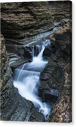 Tumbling Waters Canvas Print by Stephen Stookey