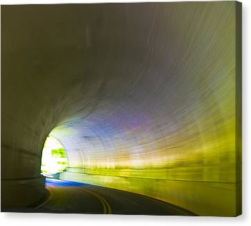Tunnel #1 Canvas Print by Terry Anderson