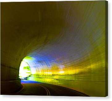 Tunnel #2 Canvas Print by Terry Anderson