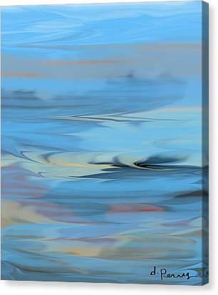 Turbulence Canvas Print by D Perry