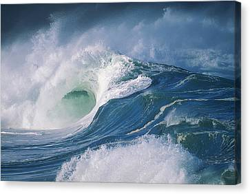 Turbulent Shorebreak Canvas Print by Vince Cavataio - Printscapes
