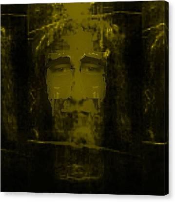 Shroud Of Turin Transfiguration Canvas Print by Jose Galindo