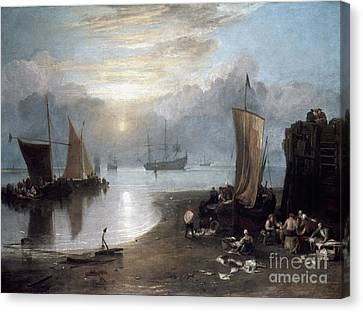 Turner: Sun Rising C1807 Canvas Print by Granger