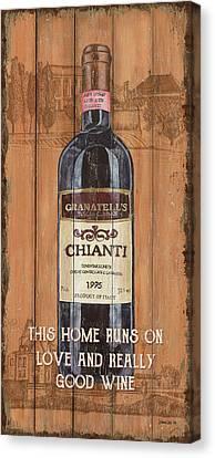 Tuscan Chianti 2 Canvas Print by Debbie DeWitt