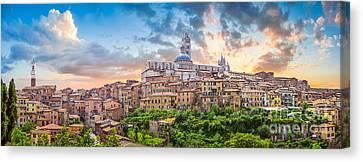 Tuscan Romance  Canvas Print by JR Photography