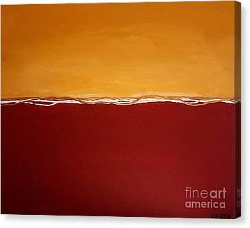 Tuscan Sunrise Canvas Print by Marsha Heiken