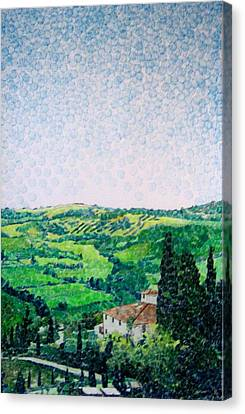 Tuscan View Canvas Print by Jason Charles Allen