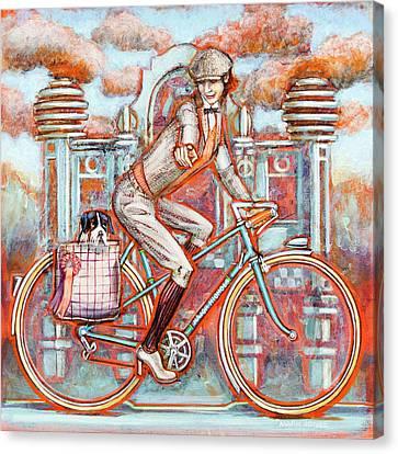 Tweed Runner And Major Nichols Canvas Print by Mark Howard Jones