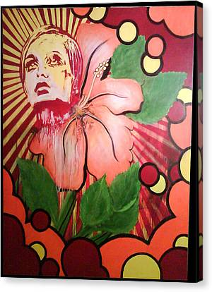 Twiggy Canvas Print by Stephen  Barry