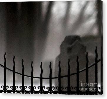 Twilight Beyond Grace Canvas Print by Linda Shafer