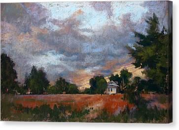 Twilight Skies Canvas Print by Donna Shortt