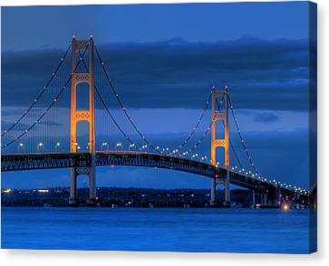 Twin Towers Of Northern Michigan Canvas Print by Twenty Two North Photography