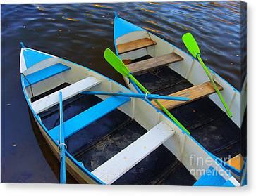 Two Boats Canvas Print by Carlos Caetano